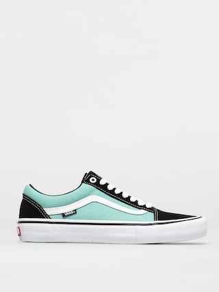 Vans Old Skool Pro Shoes (black/jade)