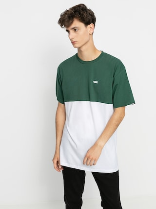 Vans Colorblock T-shirt (white/pine needle)