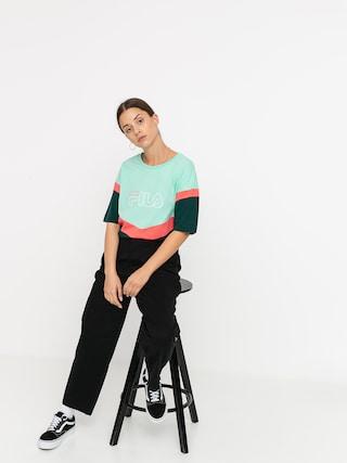 Fila Laeta T-shirt Wmn (ponderosa pine/cabbage/calypso coral)