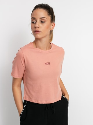Vans Flying V Crop Sport T-shirt Wmn (rose dawn)