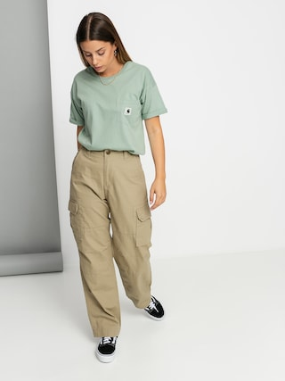 Carhartt WIP Carrie Pocket T-shirt Wmn (frosted green)