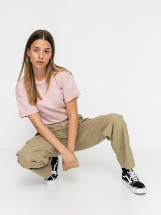 Carhartt WIP Carrie Pocket T-shirt Wmn (frosted pink)