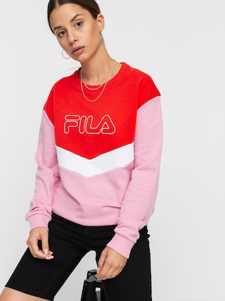 Fila Ladina Sweatshirt Wmn (lilac sachet/poppy red/bright white)
