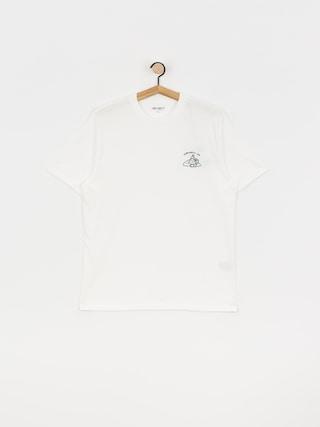 Carhartt WIP Reverse Midas T-shirt (white/bottle green)