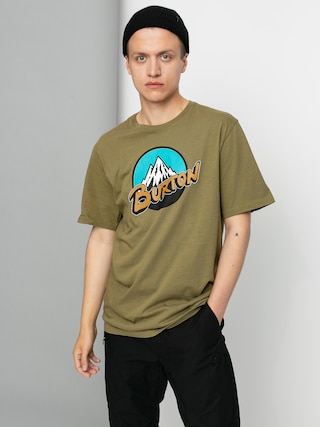 Burton Retro Mountain T-shirt (martini olive)