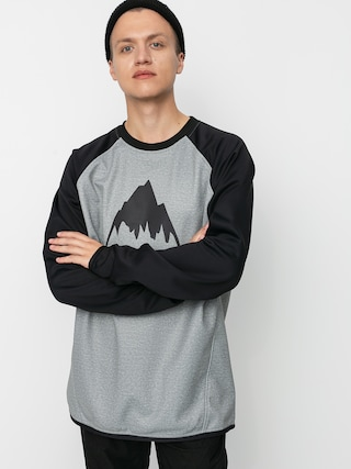 Burton Crown Weatherproof Active sweatshirt (gray heather/true black)