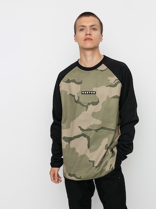 Burton Crown Weatherproof Active sweatshirt (barren camo/true black)