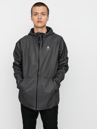 Burton Crown Weatherproof ZHD Active sweatshirt (true black heather)