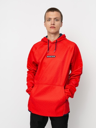 Burton Crown Weatherproof HD Active sweatshirt (flame scarlet heather)