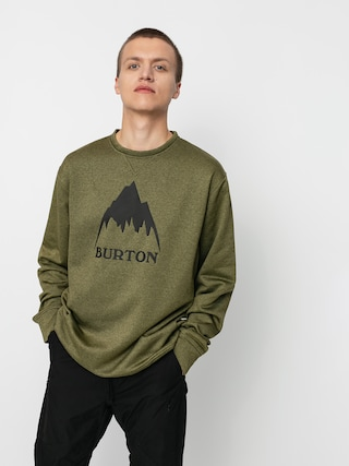 Burton Oak Active sweatshirt (martini olive heather)