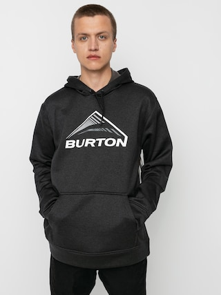 Burton Oak Seasonal HD Active sweatshirt (true black heather)