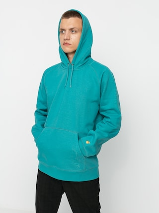 Carhartt WIP Chase HD Hoodie (frosted turquoise/gold)