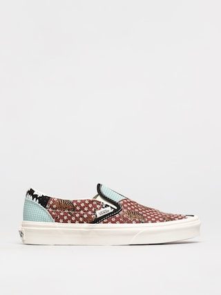 Vans Classic Slip On Shoes (tiger patchwork/blktrwht)