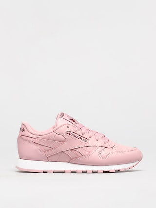 Reebok Classic Leather Shoes Wmn (clapnk/white/merlot)