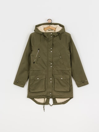 Volcom Walk On By 5K Parka Jacket Wmn (olive)
