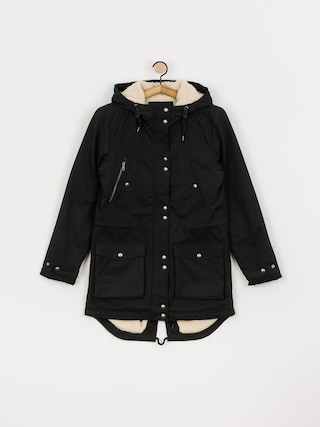Volcom Walk On By 5K Parka Jacket Wmn (black)