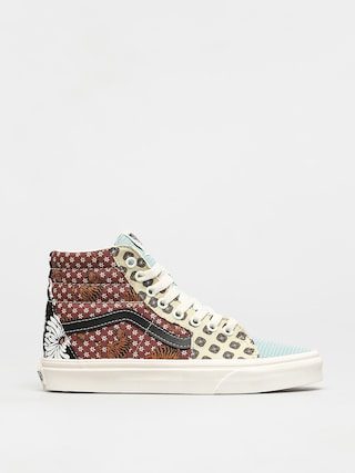 Vans Sk8 Hi Shoes (tiger patchwork/blktrwht)