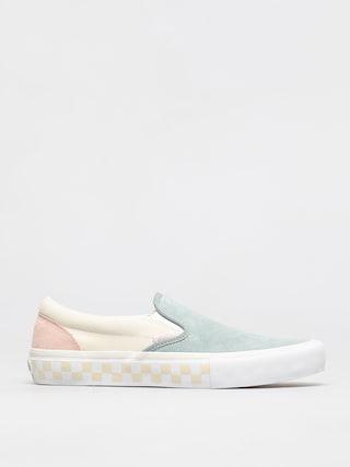 Vans Slip On Pro Shoes (washout/blue/antique)