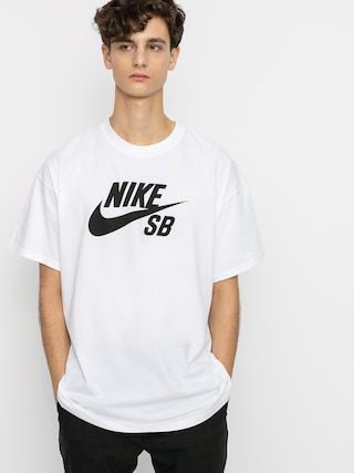 Nike SB Logo T-shirt (white/black)