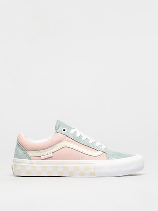 Vans Old Skool Pro Shoes (washout/peach/blue)