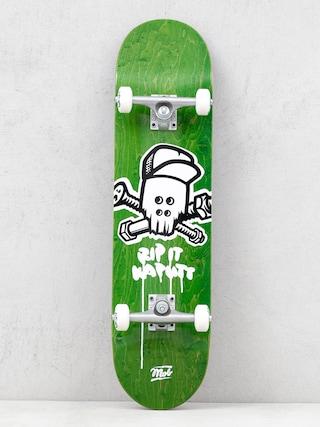 Mob Skateboards Skull Skateboard (green)