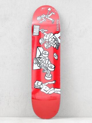 Polar Skate Nick Boseiro Cash Is Queen Deck (red)