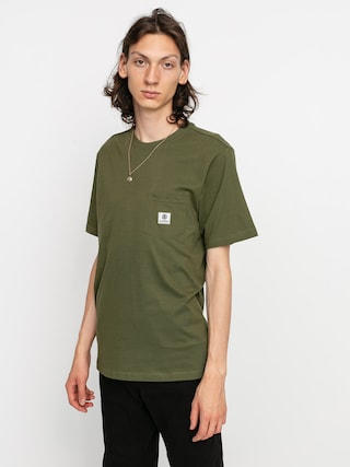 Element Basic Pocket Label T-shirt (army)