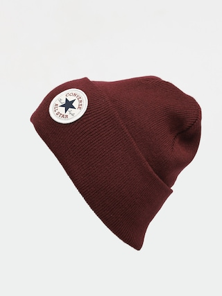Converse Tall Chuck Patch Beanie (dark burgundy)