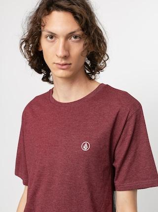 Volcom Circle Blanks Hth T-shirt (port)