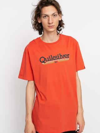 Quiksilver Tropical Lines T-shirt (chili)