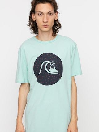 Quiksilver Jungle Bubble T-shirt (eggshell blue)