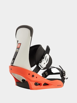 Burton Freestyle Snowboard bindings (red/white/black)