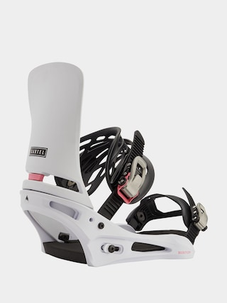 Burton Cartel Snowboard bindings (miami white)