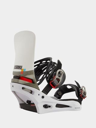 Burton Cartel X Snowboard bindings (white/black/multi)