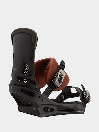 Burton Malavita Snowboard bindings (marbled leather)