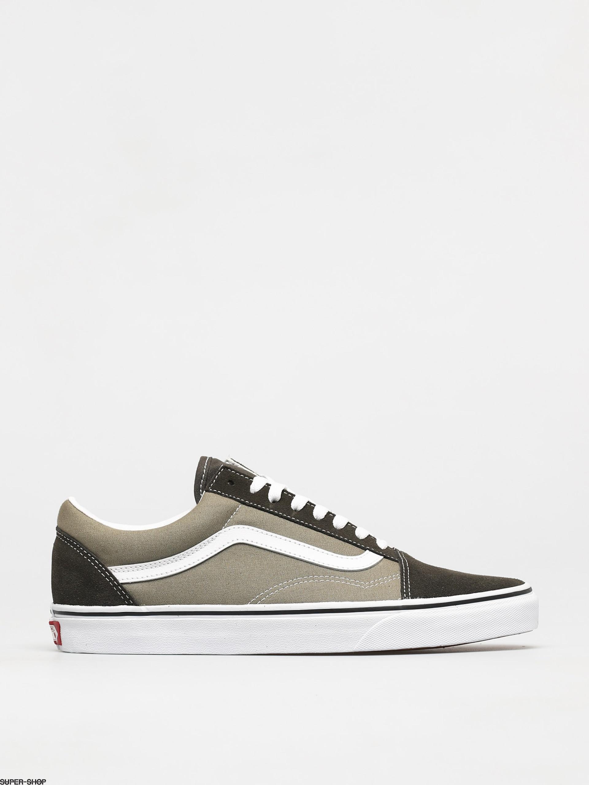 Vans Old Skool Shoes (2 tone/senecarockblkoliv)