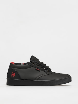 Etnies Jameson Mid Crank Shoes (black/dark grey/red)
