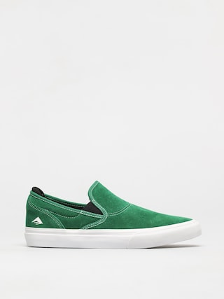 Emerica Wino G6 Slip On Shoes (green/white/black)