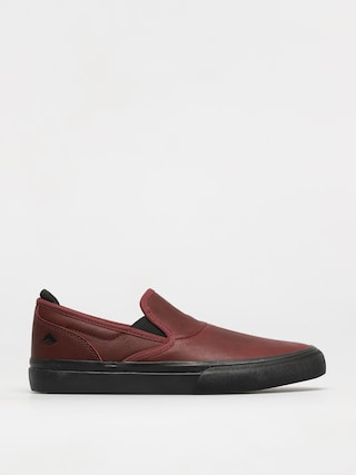 Emerica Wino G6 Slip On Shoes (oxblood)
