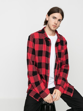 Quiksilver Motherfly Flannel Shirt (americas red motherfly)