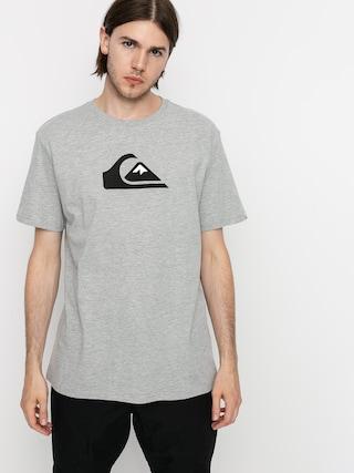 Quiksilver Comp Logo T-shirt (athletic heather)