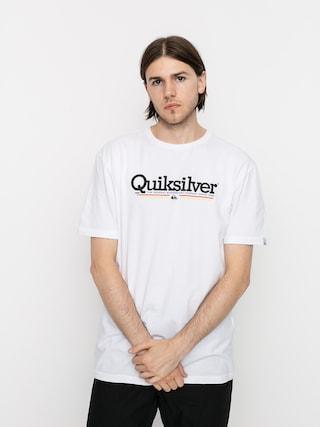 Quiksilver Tropical Lines T-shirt (white)