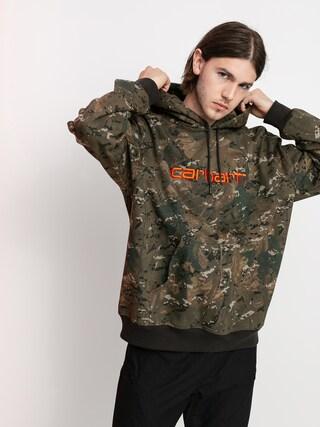 Carhartt WIP Carhartt HD Hoodie (camo combi/safety orange)