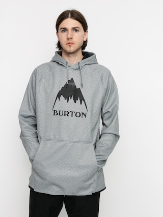 Burton Crown Weatherproof HD Active sweatshirt (gray heather)