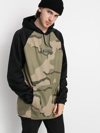 Burton Crown Weatherproof HD Active sweatshirt (barren camo/true black)
