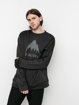 Burton Oak Active sweatshirt (true black heather)