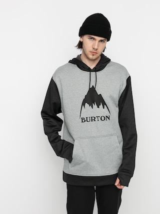 Burton Oak HD Active sweatshirt (gray heather/true black)