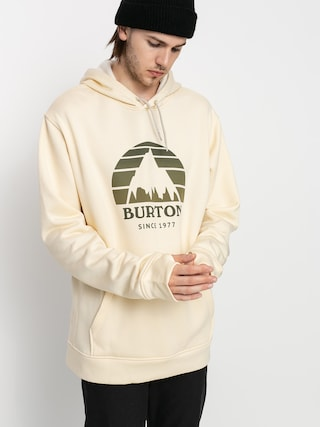 Burton Oak Seasonal HD Active sweatshirt (creme brulee heather)