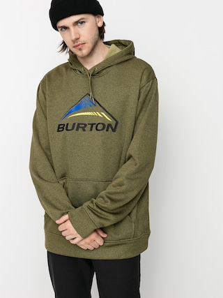 Burton Oak Seasonal HD Active sweatshirt (martini olive heather)