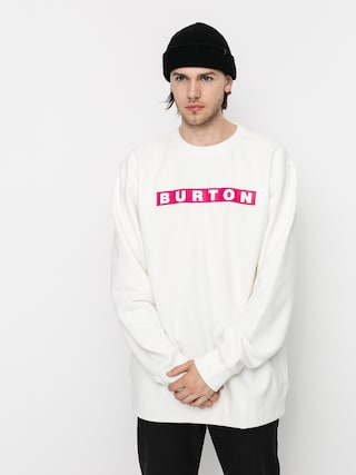 Burton Vault Sweatshirt (stout white)